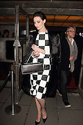 27.APRIL.2013. LONDON<br /> <br /> ERIN O'CONNOR LEAVING QUEEN ELIZABETH HALL SOUTHBANK AFTER ATTENDING DAY 1 OF THE 2013 VOGUE FESTIVAL<br /> <br /> BYLINE: EDBIMAGEARCHIVE.COM<br /> <br /> *THIS IMAGE IS STRICTLY FOR UK NEWSPAPERS AND MAGAZINES ONLY*<br /> *FOR WORLD WIDE SALES AND WEB USE PLEASE CONTACT EDBIMAGEARCHIVE - 0208 954 5968*