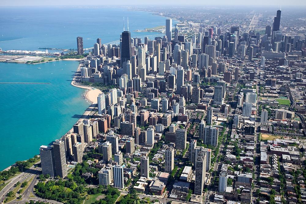 Downtown Chicago Area - Skyscrapers - Hancock