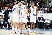 DESCRIZIONE : Riga Latvia Lettonia Eurobasket Women 2009 Semifinal 5th-8th Place Italia Lettonia Italy Latvia<br /> GIOCATORE : Laura Macchi Raffaella Masciadri Marte Alexander<br /> SQUADRA : Italia Italy<br /> EVENTO : Eurobasket Women 2009 Campionati Europei Donne 2009 <br /> GARA : Italia Lettonia Italy Latvia<br /> DATA : 19/06/2009 <br /> CATEGORIA : ritratto<br /> SPORT : Pallacanestro <br /> AUTORE : Agenzia Ciamillo-Castoria/E.Castoria