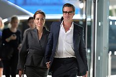 JUN 13 2014 Brad Pitt and Angelina Jolie