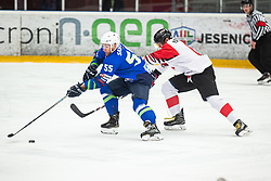 SABOLIC Robert (SLO) during OI pre-qualifications of Group G between Slovenia men's national ice hockey team and Japan men's national ice hockey team, on February 9, 2020 in Ice Arena Podmezakla, Jesenice, Slovenia. Photo by Peter Podobnik / Sportida