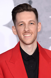 Sigala attending the Brit Awards 2019 at the O2 Arena, London. Photo credit should read: Doug Peters/EMPICS. EDITORIAL USE ONLY