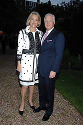 WINSTON & LUCE CHURCHILL at the annual Cartier Chelsea Flower Show dinner held at the Chelsea Physic Garden on 21st May 2007.<br />