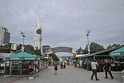 Batumi, Georgia. Batumi Pier entertainment centre