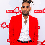 NLD/Amsterdam/20180622 - Inloop Dance4life gala 2018, Kenzo Alvares
