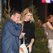 NLD/Amsterdam/20191206 - Sky Radio's Christmas Tree For Charity 2019, Estelle Cruijff en Najib Amhali