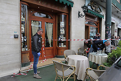Italy, Naples -May 3, 2019.Camora mafia war. Three wounded in an ambush .A three-year-old girl hit along with her grandmother and a criminal in a shooting. She is is in serious condition in hospital. (Credit Image: © Napoli/Giacomino/Ropi via ZUMA Press)