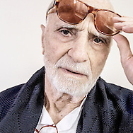 CHINA / Shanghai /<br /> <br /> Italian Film director Mario Monicelli in shanghai during the 2007 film festival<br /> <br /> &copy; Daniele Mattioli / Anzenberger