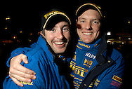 Dean Herridge & Cody Crocker - Portrait.2003 Falken Rally of Queensland.Imbul State Forest, QLD.13th-15th of June 2003 .(C) Joel Strickland Photographics