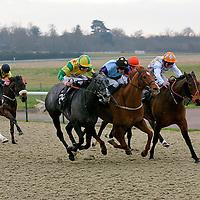 Patavium Price and Fergus Sweeney winning the 1.20 race