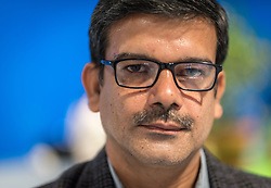13 December 2019, Madrid, Spain: Dinesh Vyas from CASA, India, attends COP25.