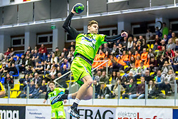 10.12.2017, BSFZ Suedstadt, Maria Enzersdorf, AUT, HLA, SG INSIGNIS Handball WESTWIEN vs Bregenz Handball, Hauptrunde, 16. Runde, im Bild Sebastian Frimmel (SG INSIGNIS Handball WESTWIEN) // during Handball League Austria 16 th round match between SG INSIGNIS Handball WESTWIEN and Bregenz Handball at the BSFZ Suedstadt, Maria Enzersdorf, Austria on 2017/12/10, EXPA Pictures © 2017, PhotoCredit: EXPA/ Sebastian Pucher
