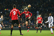 Marouane Fellaini Midfielder of Manchester United during the Premier League match between West Bromwich Albion and Manchester United at The Hawthorns, West Bromwich, England on 17 December 2016. Photo by Phil Duncan.
