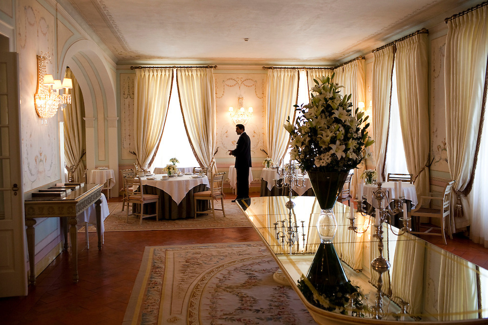 Seteais Palace Tivoli Hotel in Sintra, Portugal.