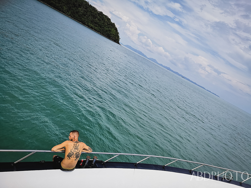 Boat to Koh Phi Phi islands