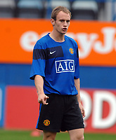 David Gray (United) . Luton Town v Manchester United X1 28/07/2009 Credit : Colorsport / Andrew Cowie