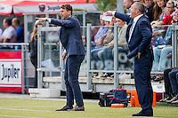 ZWOLLE - 18-09-2016, PEC Zwolle - AZ, MAC3park Stadion, 0-2, Assistent trainer Dennis Haar, PEC Zwolle trainer coach Ron Jans