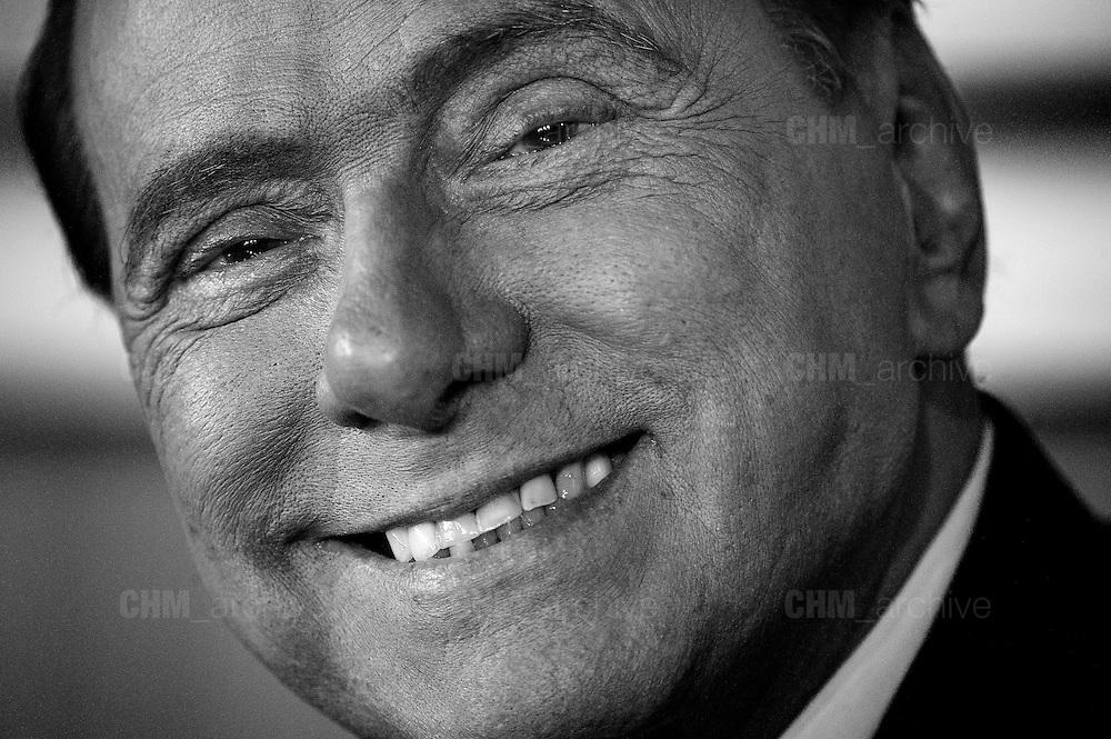 """Silvio Berlusconi durante la presentazione del libro """"Madri"""".  Roma 20 gennaio 2016. Christian Mantuano / OneShot"""