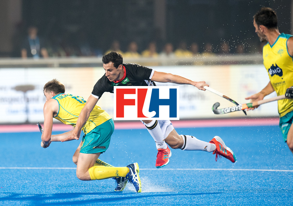 Odisha Men's Hockey World League Final Bhubaneswar 2017<br /> Match id:05<br /> 05 GER v AUS (Pool B)<br /> Foto: Tim Oruz flying.<br /> WORLDSPORTPICS COPYRIGHT FRANK UIJLENBROEK