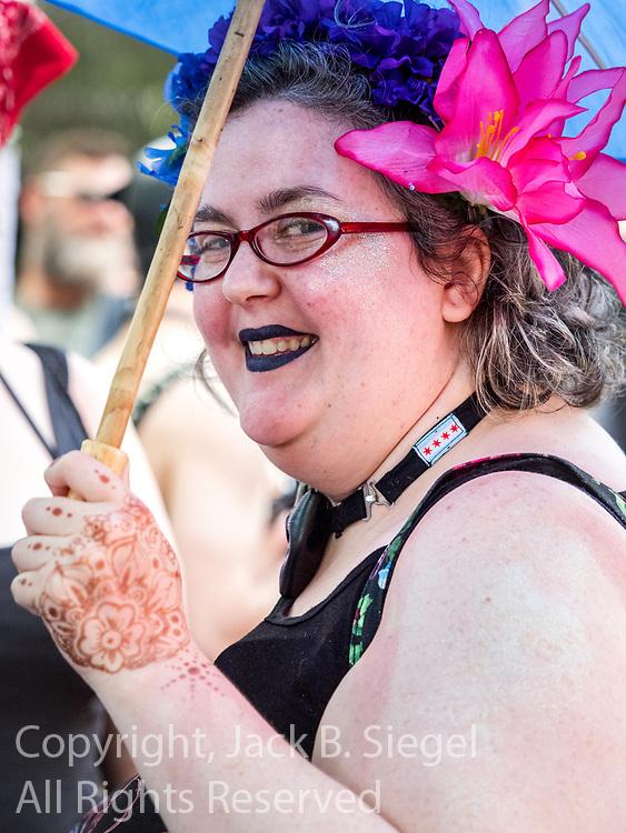 The 2017 Gay Pride Parade Parade starting at Montrose and Broadway and ending at Sheridan and Diversey