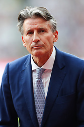 London, 2017-August-04. Lord Sebastian Coe at the opening of the IAAF World Championships London 2017. Paul Davey.