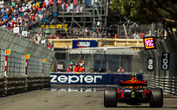 May 27, 2017 - Monte-Carlo, Monaco - Max Verstappen of Netherlands and Red Bull Racing driver goes during the qualification on Formula 1 Grand Prix de Monaco on May 27, 2017 in Monte Carlo, Monaco. (Credit Image: © Robert Szaniszlo/NurPhoto via ZUMA Press)