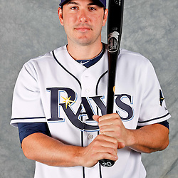 February 29, 2012; Port Charlotte, FL, USA; Tampa Bay Rays right fielder Matt Joyce (20) poses for a portrait during photo day at Charlotte Sports Park.  Mandatory Credit: Derick E. Hingle-US PRESSWIRE