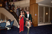 Viscount  Dupplin and Iona Duchess of Argyll, , The Royal Caledonian Ball 2004. Grosvenor House, 21 May 2004. ONE TIME USE ONLY - DO NOT ARCHIVE  © Copyright Photograph by Dafydd Jones 66 Stockwell Park Rd. London SW9 0DA Tel 020 7733 0108 www.dafjones.com