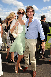 TIM & MALIN JEFFERIES at the IWC Laureus Polo Cup Day 2008 held at Ham Polo Club, Surrey on 22nd June 2008.<br />