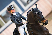 Anna Venema - The Ritz R&B<br /> KNHS Indoorkampioenschappen 2018<br /> © DigiShots