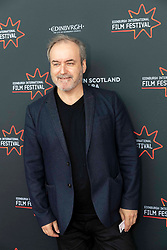 Director, Douglas Mackinnon and Composer David Arnold attend a the first ever screening of Good Omens in its entirety at the Edinburgh International Film Festival<br /> <br /> Pictured: David Arnold