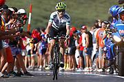 Benjamin King (USA - Dimension Data), during the UCI World Tour, Tour of Spain (Vuelta) 2018, Stage 9, Talavera de la Reina - La Covatilla 200,8 km in Spain, on September 3rd, 2018 - Photo Luca Bettini / BettiniPhoto / ProSportsImages / DPPI