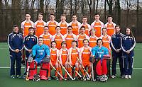 UTRECHT - TEAMFOTO  van Nederlands B jongens. FOTO KOEN SUYK.