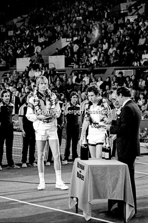 1980 Benson &amp; Hedges Championships -London,Doppel<br /> Sieger  John McEnroe und Peter Fleming