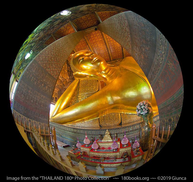 The Reclining Buddha Image at Wat Pho