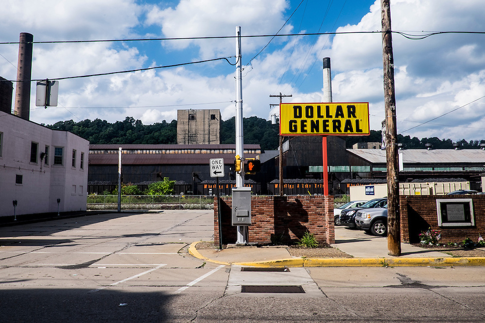Monessen, a third-class city, faces the same problems as th other former steel towns — declining population and tax revenue after the mills shut down. The city's population has dropped to 7,600 from a high of 20,268 in 1930.