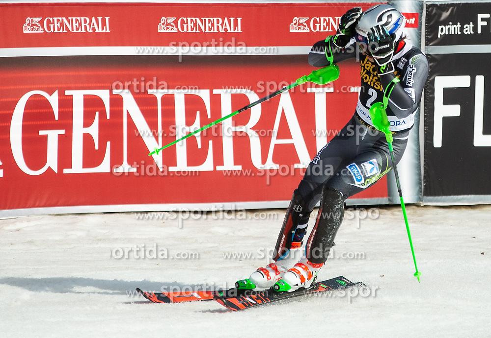 KRISTOFFERSEN Henrik of Norway reacts during the Audi FIS Alpine Ski World Cup Men's Slalom 58th Vitranc Cup 2019 on March 10, 2019 in Podkoren, Kranjska Gora, Slovenia. Photo by Matic Ritonja / Sportida
