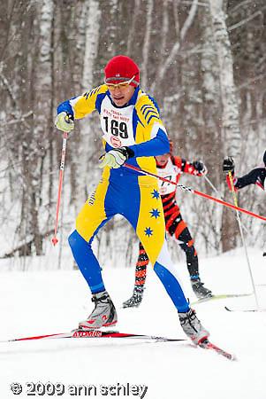 Boys Freestyle Ski Race at MN State HS Nordic Ski Race.