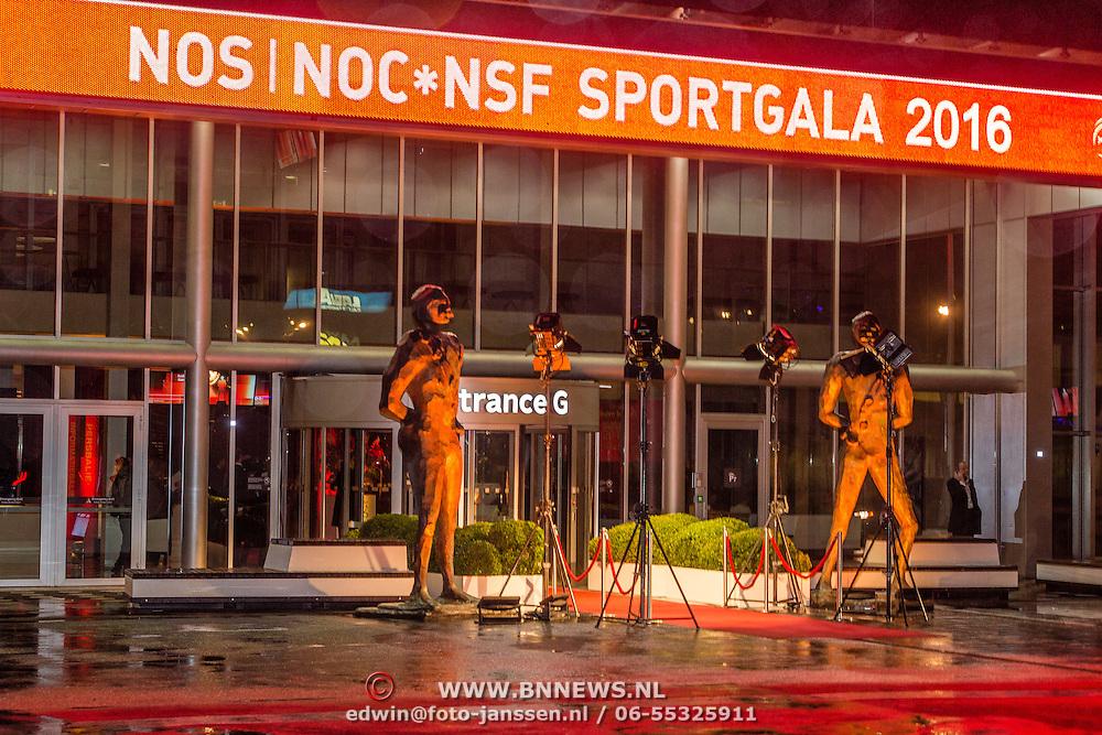 NLD/Amsterdam/20161221 - NOC*NSF Sportgala 2016, ingang