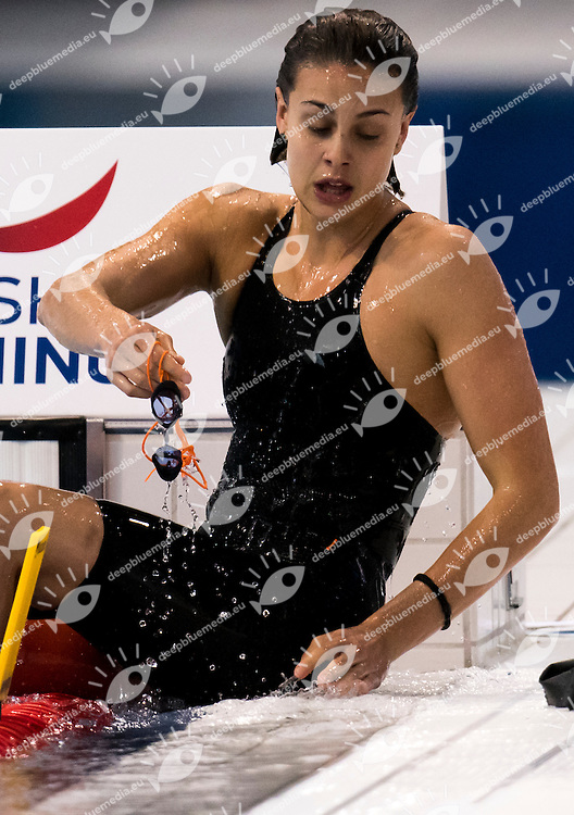 CARRARO Martina ITA<br /> London, Queen Elizabeth II Olympic Park Pool <br /> LEN 2016 European Aquatics Elite Championships <br /> Swimming<br /> Women's 50m breaststroke semifinals<br /> Day 13 21-05-2016<br /> Photo Giorgio Perottino/Deepbluemedia/Insidefoto