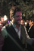 Exclusive<br /> Gerard Butler pictured at a wrap party for GEOSTORM at The Mansion at Mardi Gras World in New Orleans.<br /> Gerard was pictured with Madalina Ghenea, his girlfriend. Her and Gerard were there all night, with the director Dean Devlin and company. Gerard dated Madalina back in 2013 but she later dumped him after he was caught with a brunette in a nightclub. These images show there romance is back on after spending time at the party the pair headed outside to watch an amazing firework display on the Mississippi River, they were pictured holding hands as they left, Gerard was dating was dating Morgan Brown in December<br /> <br /> Photo shows: Gerard chats while Madalina Ghenea looks over his shoulder<br /> ©Exclusivepix Media