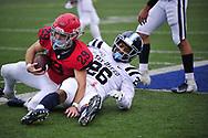 San Diego beats Dayton 50-38 for 33rd straight PFL win Reid Sinnett threw three touchdown passes, Emilio Martinez and Terrence Smith combined to rush for 300 yards and four touchdowns and San Diego pulled away defeat Dayton 50-38 on Saturday.