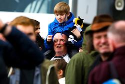Derby County fans - Mandatory by-line: Ryan Crockett/JMP - 11/05/2019 - FOOTBALL - Pride Park Stadium - Derby, England - Derby County v Leeds United - Sky Bet Championship Play-off Semi Final 1st Leg
