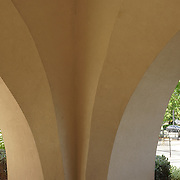 Arches near Hooters.<br /> Lots of pedestrian traffic..