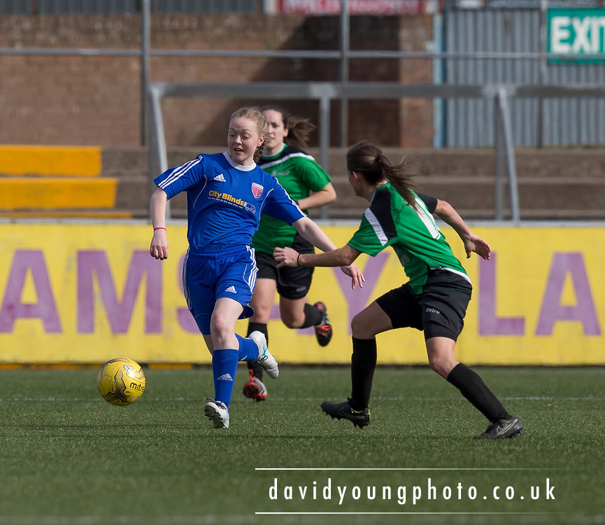 - Forfar Farmington v Siirling University in the Scottish Womens' Premier League Cup Quarter Final at Station Park, Forfar<br /> <br />  - &copy; David Young - www.davidyoungphoto.co.uk - email: davidyoungphoto@gmail.com