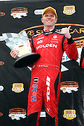 Garth Tander of the Holden Racing Team after winning the Winton 400  ~ V8 Supercar Series Round 9 at Winton Motor Raceway, Victoria Australia on Sunday 3rd August 2008. Photo: Clay Cross/PHOTOSPORT