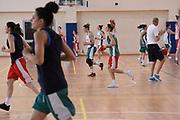 Matteo Panichi, squadra<br /> Nazionale Femminile Senior Allenamento<br /> FIP 2017<br /> Centro Giulio Onesti, 21/05/2017<br /> Foto Ciamillo-Castoria / G. Ciamillo