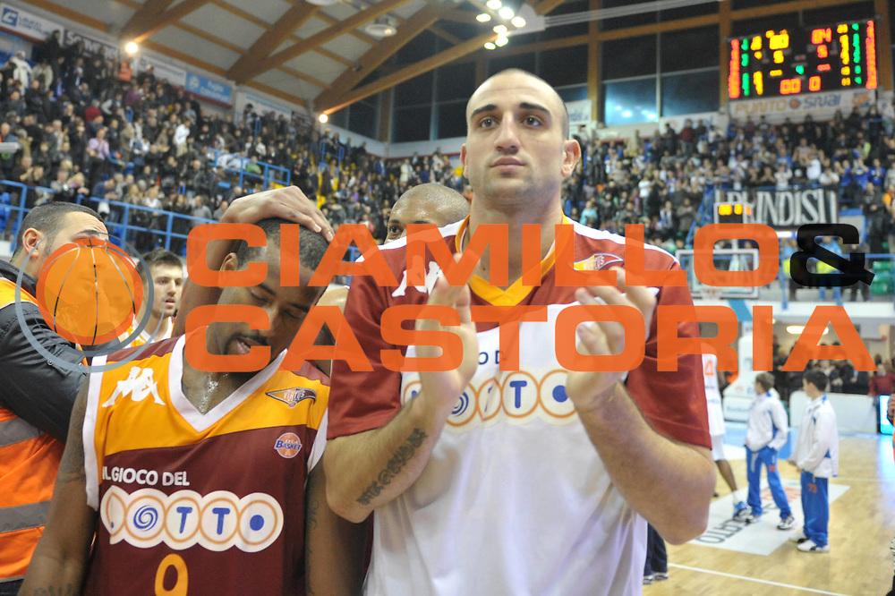 DESCRIZIONE : Brindisi Lega A 2010-11 Enel Brindisi Lottomatica Virtus Roma<br /> GIOCATORE : Darius Washington<br /> SQUADRA : Lottomatica Virtus Roma<br /> EVENTO : Campionato Lega A 2010-2011<br /> GARA : Enel Brindisi Lottomatica Virtus Roma<br /> DATA : 23/01/2011<br /> CATEGORIA : esultanza<br /> SPORT : Pallacanestro<br /> AUTORE : Agenzia Ciamillo-Castoria/D.Tasco<br /> Galleria : Lega Basket A 2010-2011<br /> Fotonotizia : Brindisi Lega A 2010-11 Enel Brindisi Lottomatica Virtus Roma<br /> Predefinita :