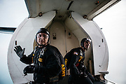 Army's Golden Knights Parachute Team<br /> Chicago Air &amp; Water 2014