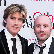 NLD/Amsterdam//20140401 - Filmpremiere The Other Woman, Nick Nielsen en Dean Saunders